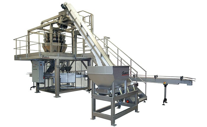 Guelt Canning - Integration of  multihead weigher