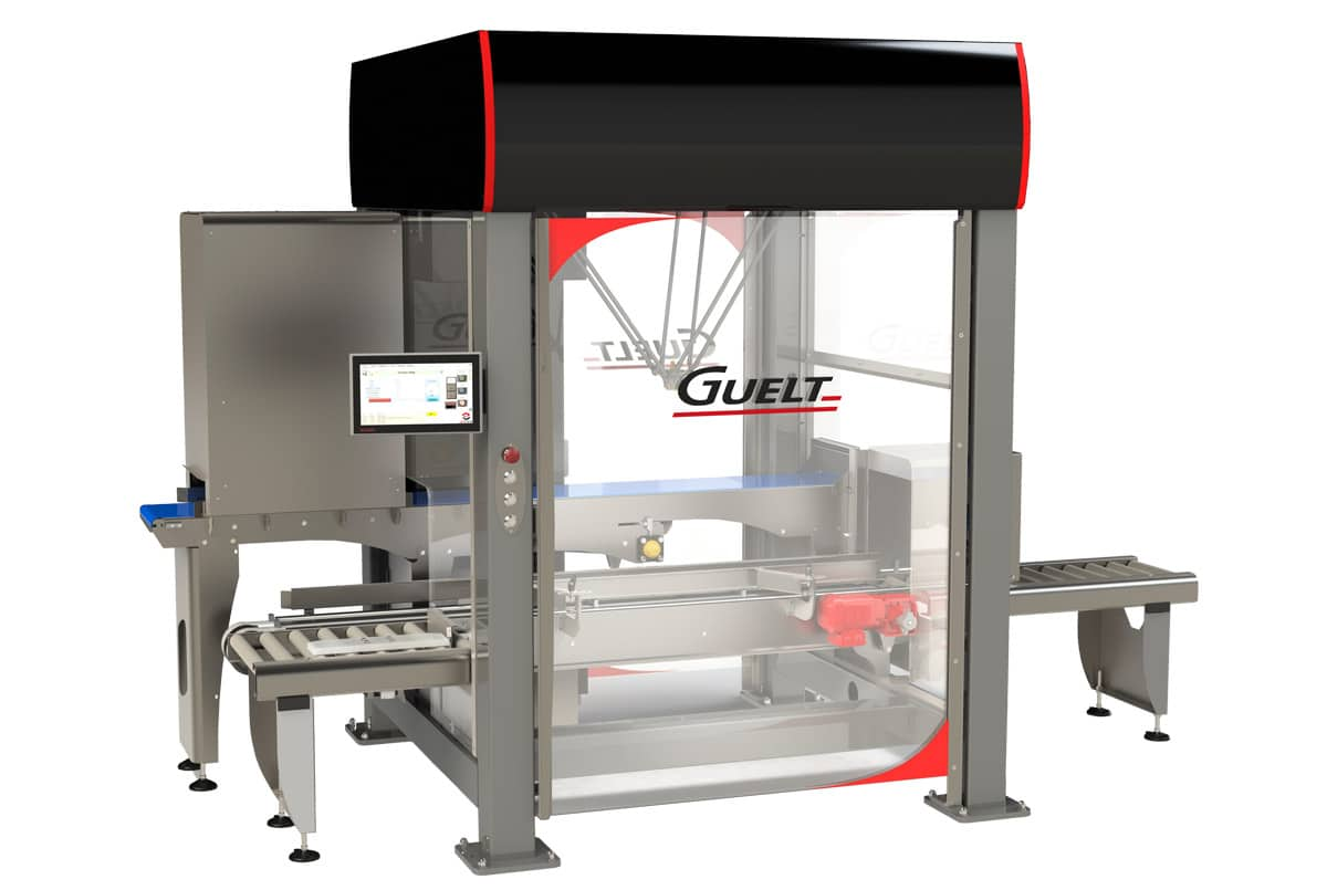 MSG robotized packing module - Guelt