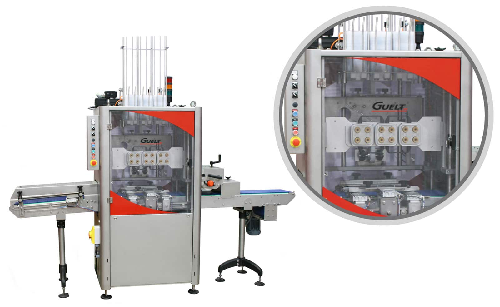 Lidding machine - Packaging solutions - Guelt
