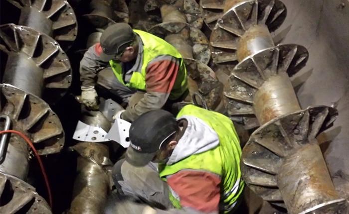Guelt Techni-Services : intervention dans une usine de traitement des déchets verts