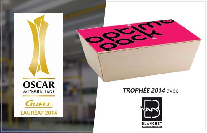 Guelt - Lauréat 2014 Oscar de l'Emballage avec Optimo Pack de Blanchet