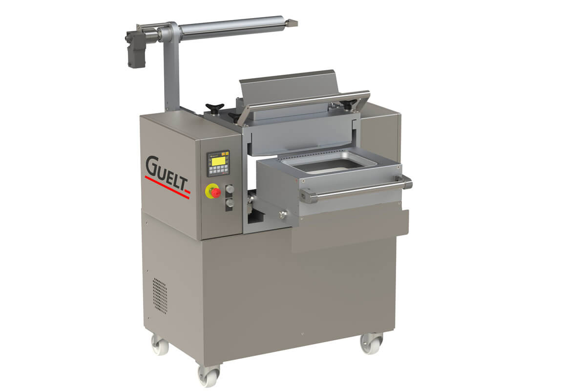 Operculeuse semi-automatique OPE1000 sans dérouleur de film- Guelt