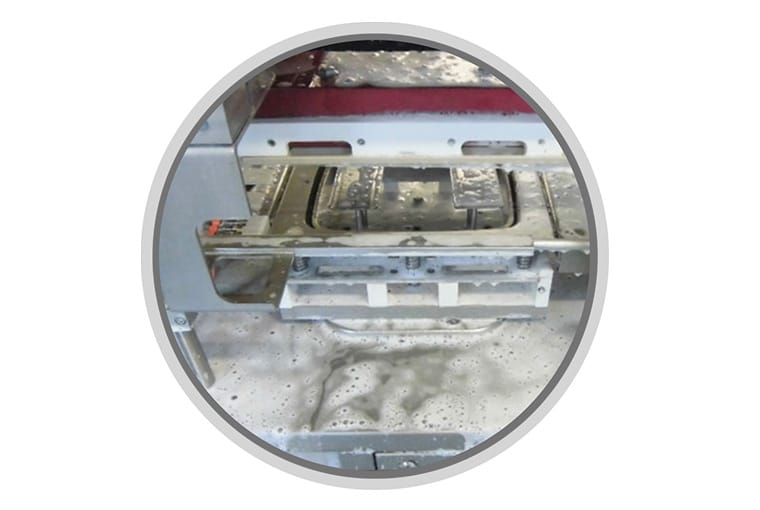 Operculeuse automatique OPP2000 - nettoyabilité - Guelt