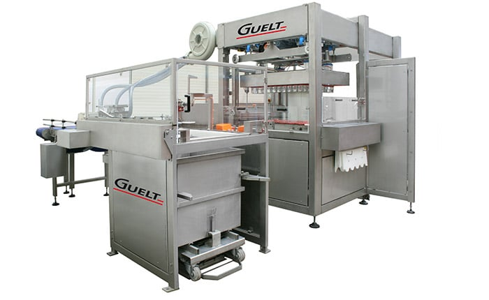 Automatic Palletizers with décageur - Guelt