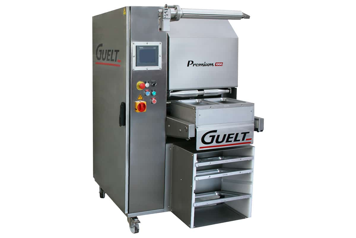 Semi-automatic tray sealer Guelt Premium 1000