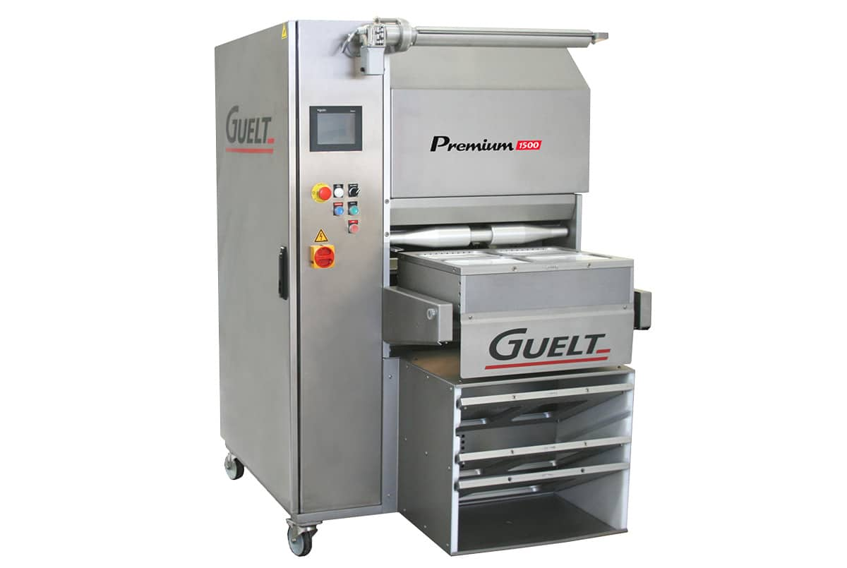 Semi-automatic tray sealer Premium 1500 - Guelt