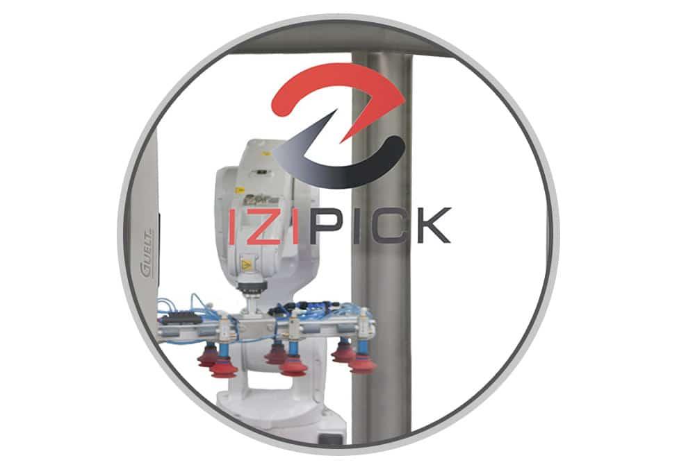IZIpick module d'encaissage configurable en robot 2, 4 ou 6 axes - Guelt