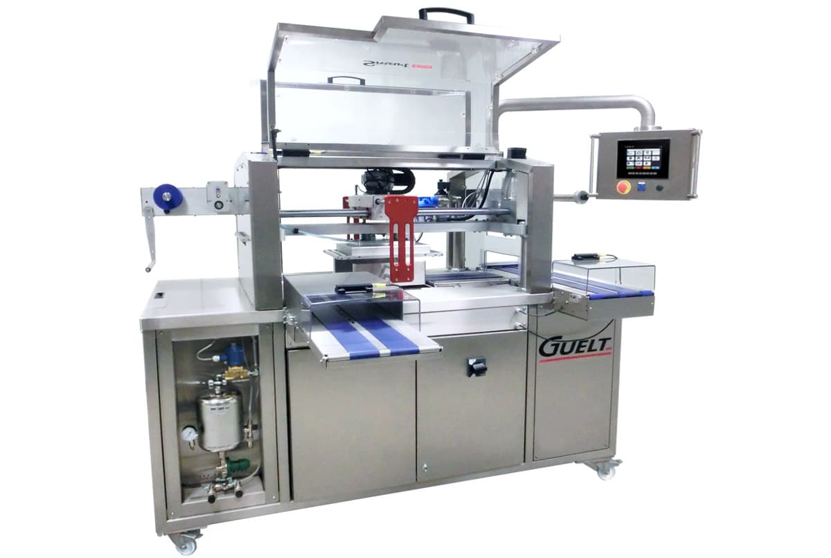 Automatic and electrical tray sealer Smart 2300 - Guelt