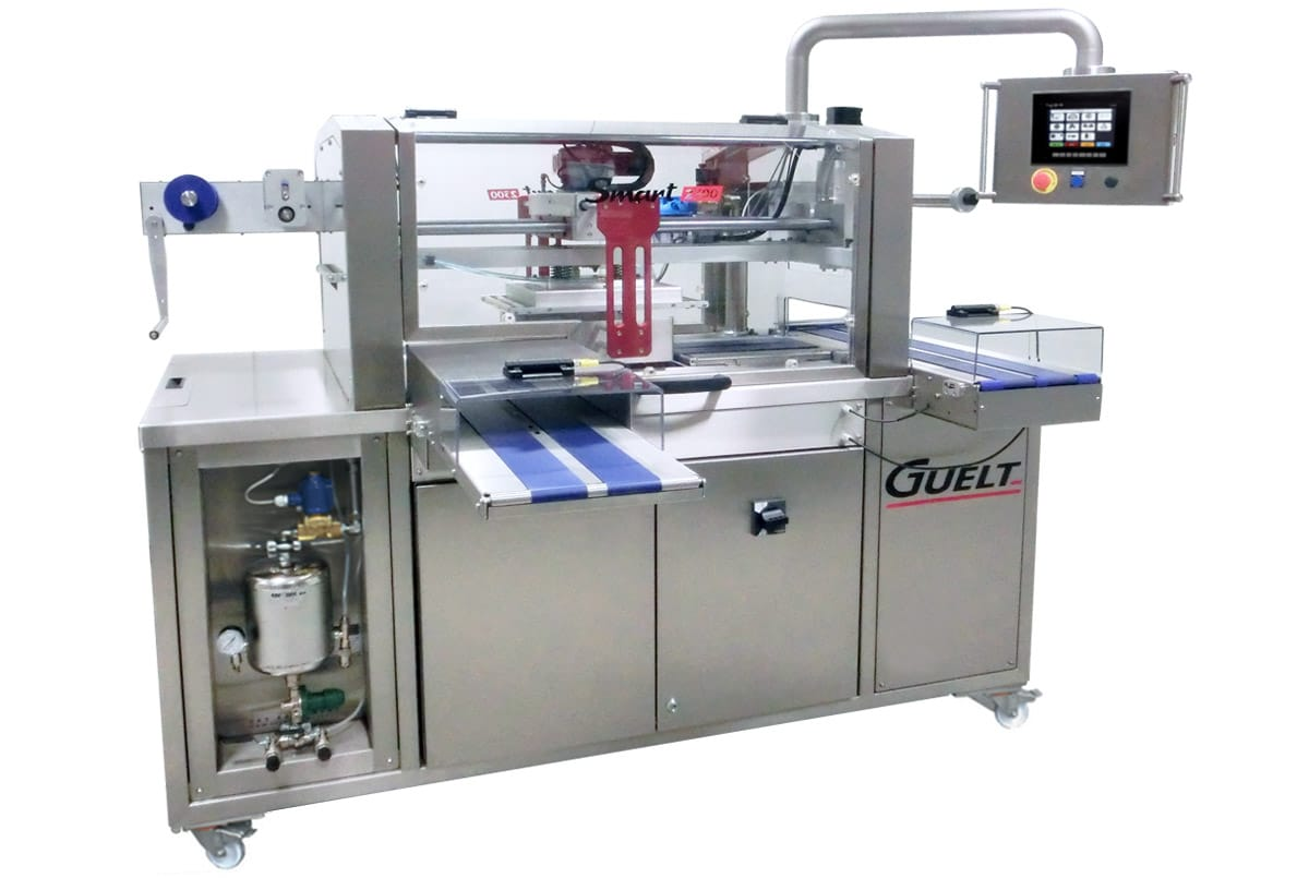 Automatic and electric tray sealer Smart 2300 - Guelt