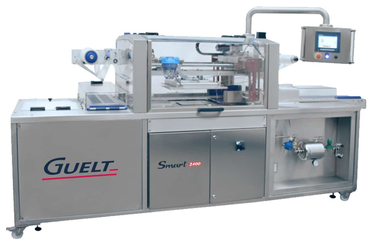 Automatic and electrical tray sealer Smart 2400 - Guelt
