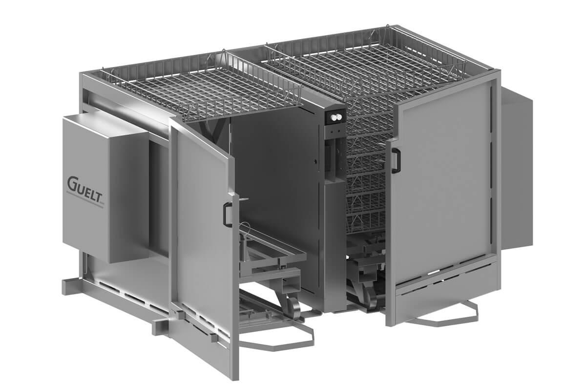 Déclayeur semi-automatique - Solutions Conserverie - Guelt