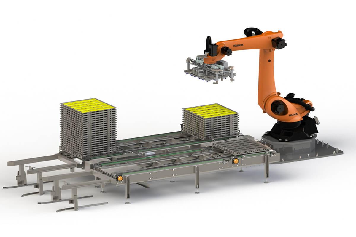 Robot d'enclayage Guelt