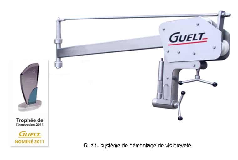 Hachoir HG1300 - Système breveté de démontage de vis - Guelt