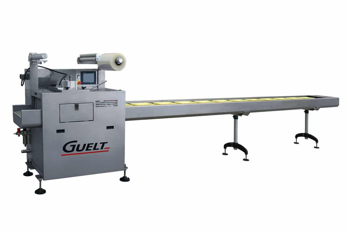 Operculeuse automatique OPA2000 avec poste de chargement grande longueur - Guelt