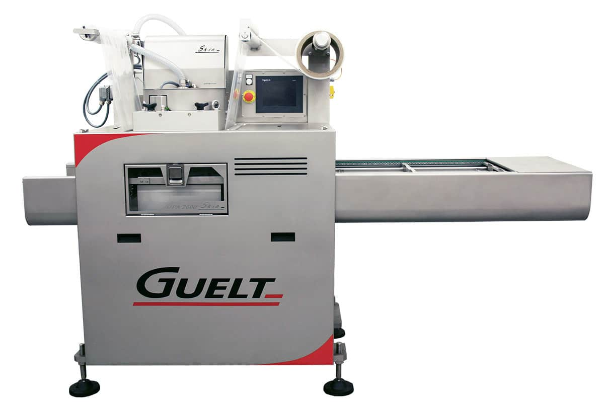 Automatic skin tray sealer - OPA2000 Skin - Guelt
