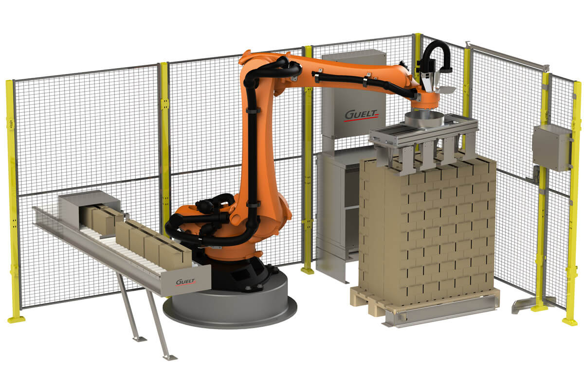 Palettisation automatisée PAL4000 Guelt