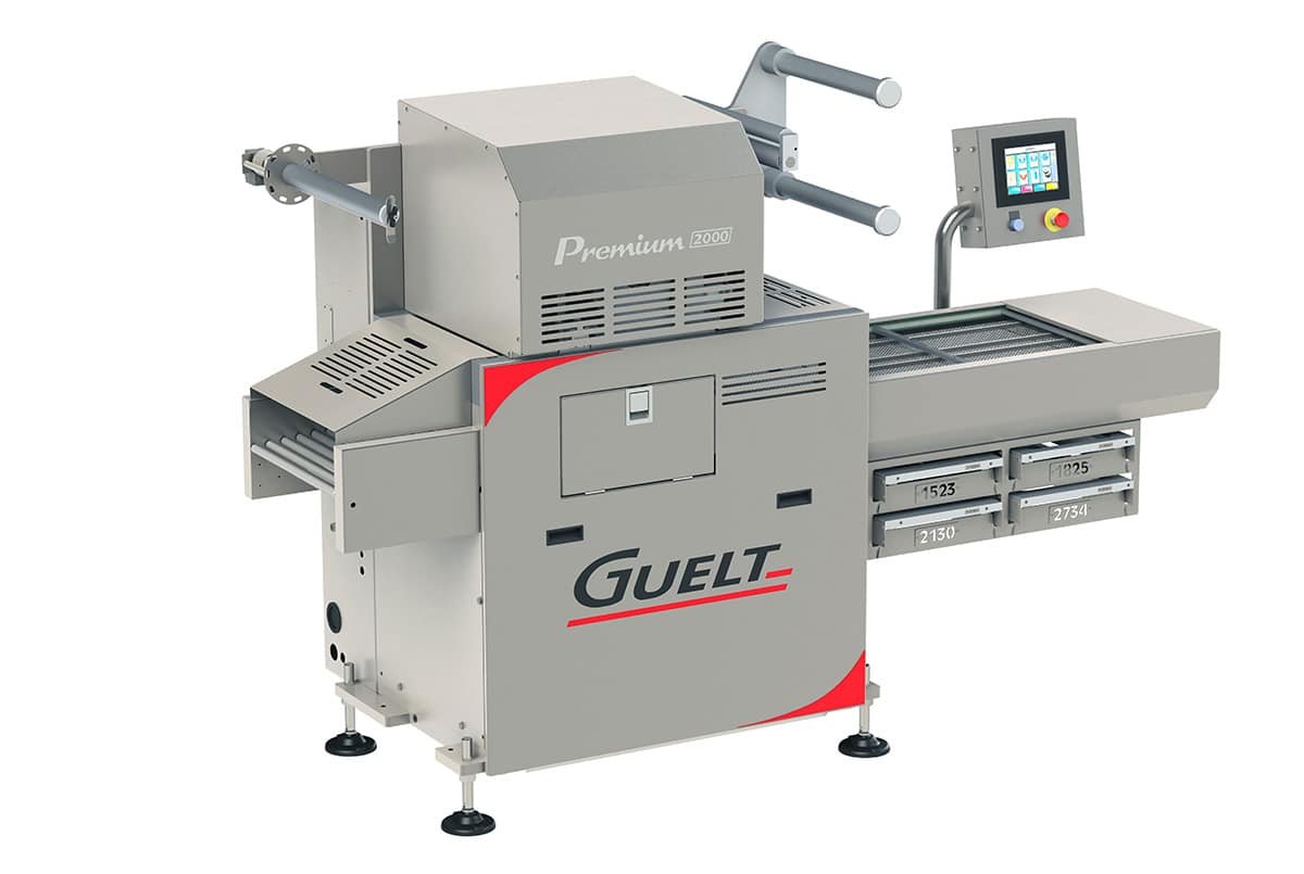 Automatic tray sealer Premium 2000 - Guelt