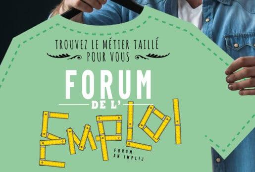 Forum de l'Emploi - Quimperlé Communauté & Pôle Emploi