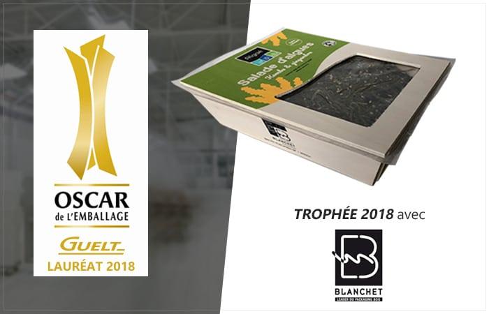 Guelt - Lauréat 2018 Oscar de l'Emballage avec BBC Pack de Blanchet