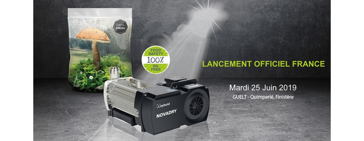 Leybold lancement Novadry 25 juin 2019