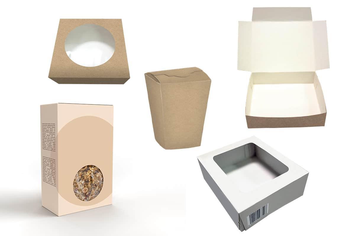 IZIclose, exemples de boites fermées - Guelt Packaging