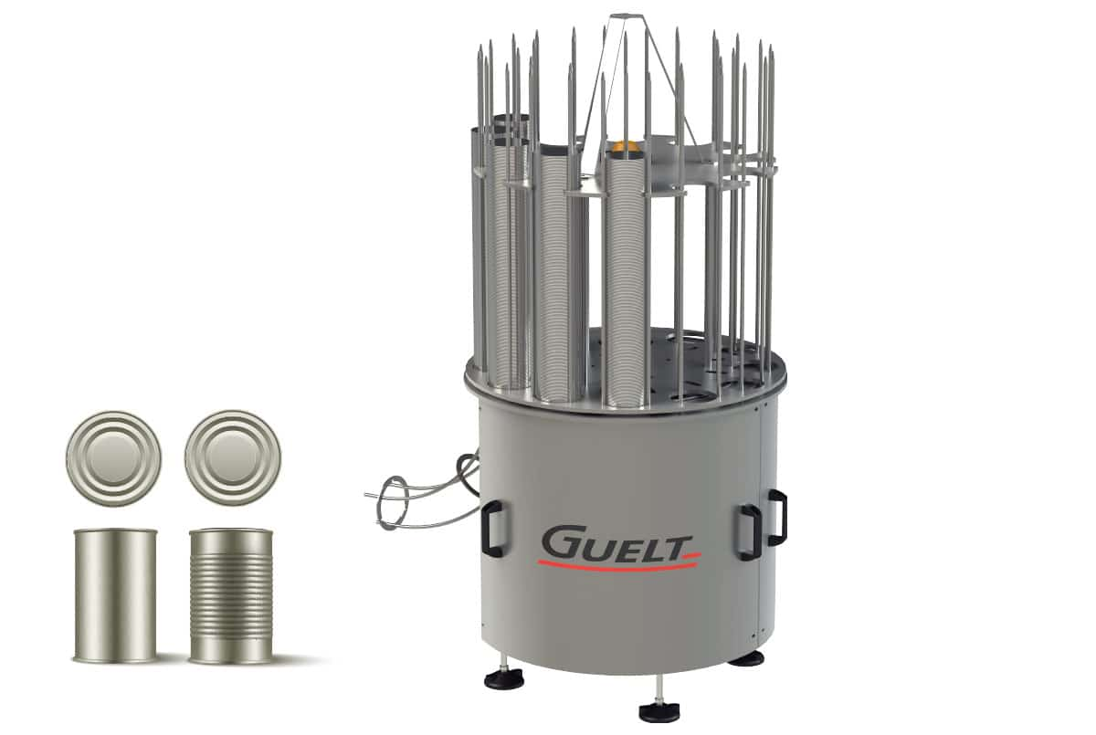 Guelt Canning - Food  automatic bottoming of boxes of  can