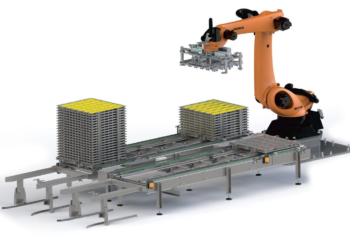 Guelt Canning - Embedding - Robotic Embedding