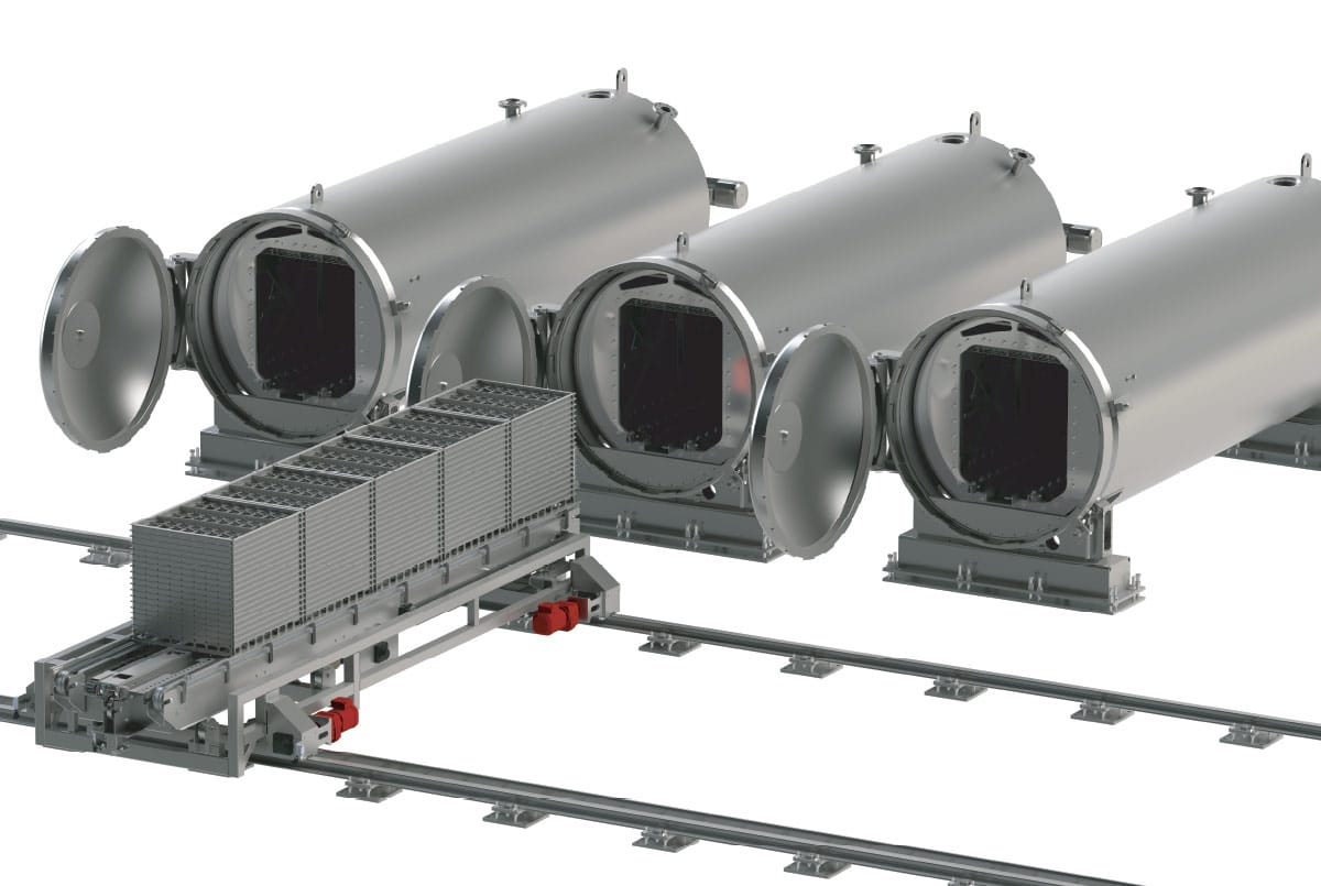 Guelt Canning - Autoclave shuttles