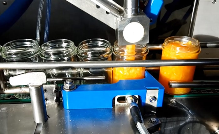 Guelt Canning - Jam dosage  in glass jars by Fillpack.