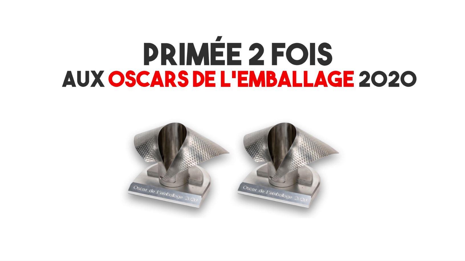 THR3 Premium récompensée aux Oscars de l'Emballage 2020 avec Emballages Magazine