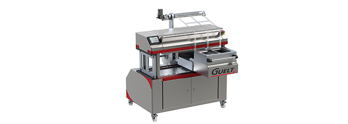 Guelt - Premium 1200 semi-automatic 2-format tray sealer