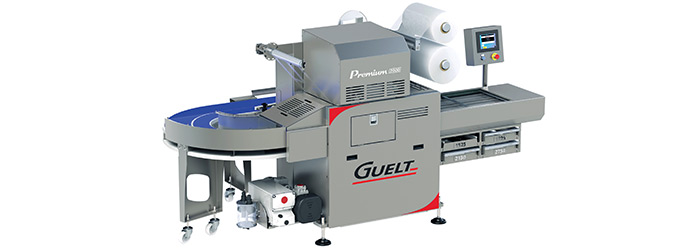 Guelt - Premium 2000 automatic 4-format tray sealer